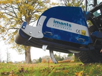 Imants root pruner for hire