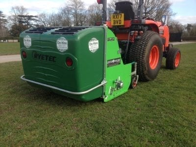 Ryetec P1200 Flail with Tractor