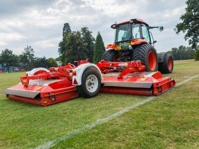 Trimax Pegasus 493 with Tractor