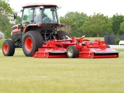 Trimax Snake mower with Tractor
