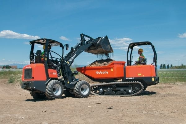 Kubota Track Dumpers HERO