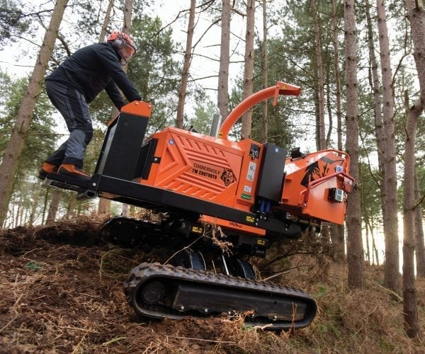 Timberwolf Tracked Chippers