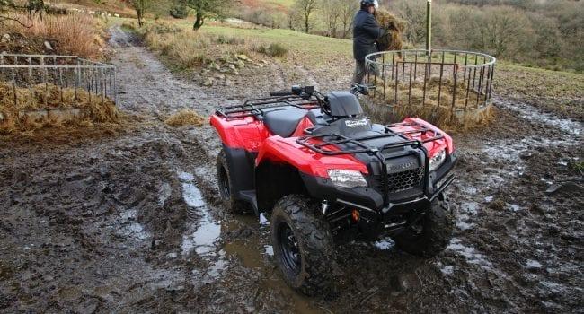 Honda TRX420 Utility ATV 4wd
