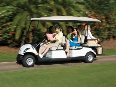 Yamaha Concierge-A Buggy For Events