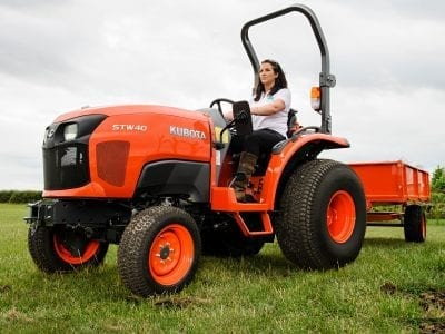 Kubota STW40 compact Tractor For Events