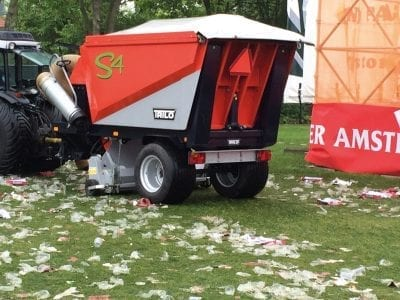 Trilo S4 Vacuum Sweeper For Events
