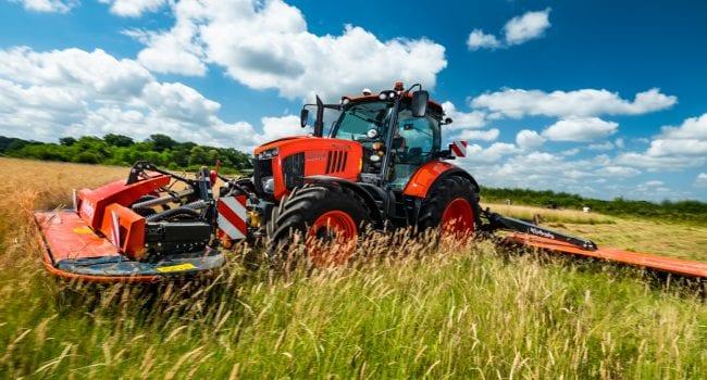 Kubota compact tractors